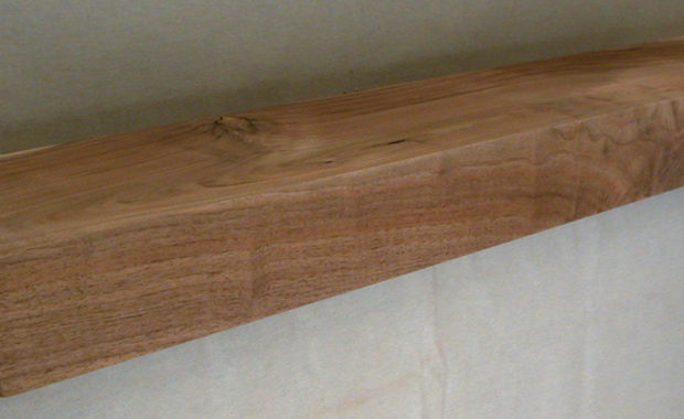 Log Style Mantel Square Face