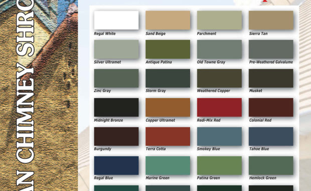 American Chimney Shroud color choices