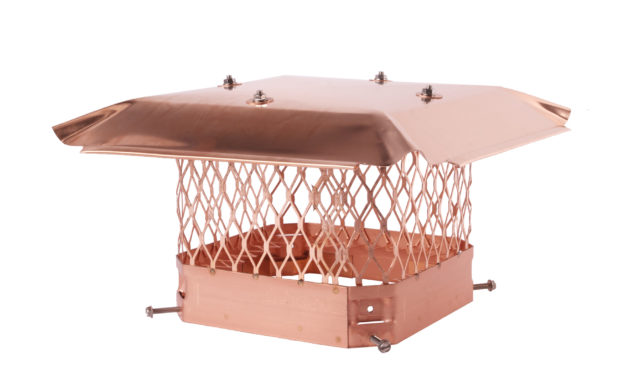 Hy-C Draft King Copper Chimney Cap